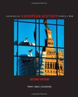 Sources of European History: Since 1900 2 9781424069675