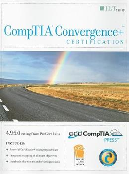CompTIA Convergence+ Certification Student Manual, by Axzo Press 9781426004100