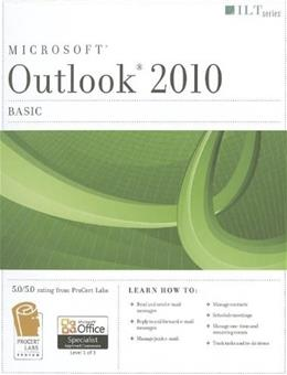 Microsoft Outlook 2010: Basic, by Axzo Press 9781426021145