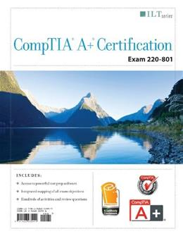 CompTIA A+ Certification: Exam 220-801, by Axzo Press 9781426035449