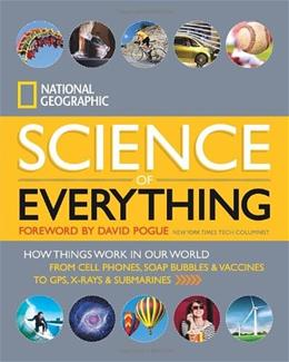 Science of Everything: How Things Work in Our World, by National Geographic 9781426211683
