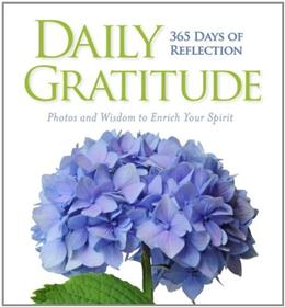 Daily Gratitude: 365 Days of Reflection 9781426213793