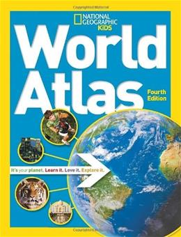 National Geographic Kids World Atlas 4th 9781426314032