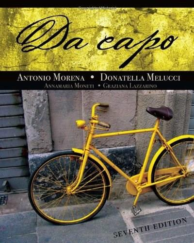Da Capo (World Languages) 7 w/CD 9781428262744