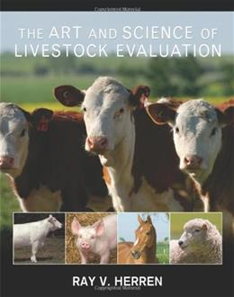 Art and Science of Livestock Evaluation, by Herren 9781428335929