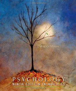 Psychology In Modules, by Myers, 9th Edition 9781429216388