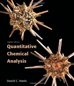 Quantitative Chemical Analysis 8 9781429218153