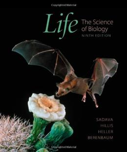 Life: The Science of Biology, 9th Edition 9781429219624