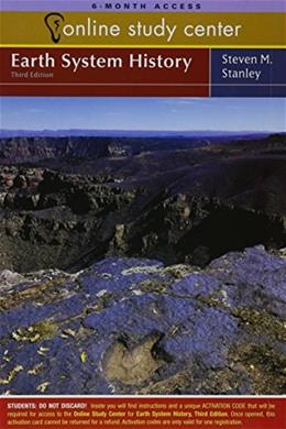 Earth System History, by Stanley, 3rd Edition, ACCESS CODE ONLY 3 PKG 9781429229883