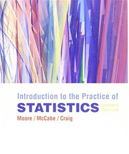 Introduction to the Practice of Statistics, by Moore, 7th Edition 9781429240208
