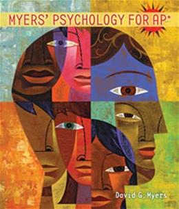 Myers Psychology for AP* Reprint 9781429244367