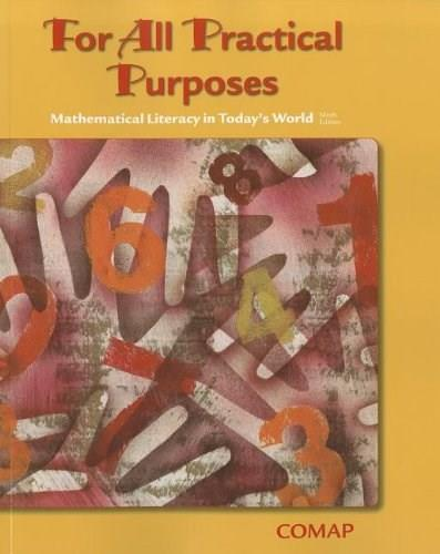For All Practical Purposes: Mathematical Literacy in Today