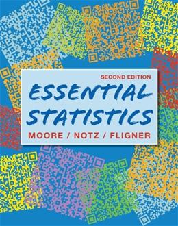 Essential Statistics, by Moore, 2nd Edition 2 PKG 9781429255684