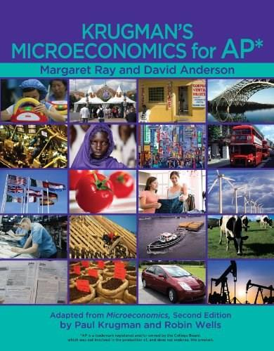 Krugmans Macroeconomics for AP* First Edit 9781429257305