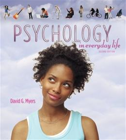 Psychology in Everyday Life, by Myers, 2nd Edition 9781429263948