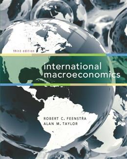 International Macroeconomics, by Feenstra, 3rd Edition 9781429278430
