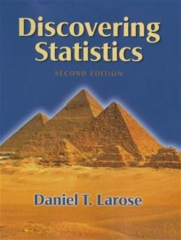 Discovering Statistics, by Larose, 2nd Edition 2 w/CD 9781429295260