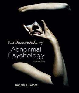 Fundamentals of Abnormal Psychology 7 9781429295635