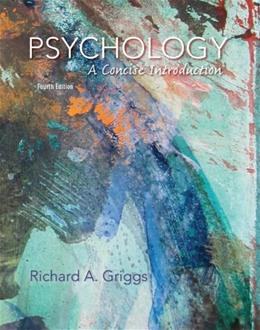 Psychology: A Concise Introduction 4 9781429298902