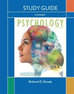 Psychology, by Myers, 10th Edition, Study Guide 9781429299640