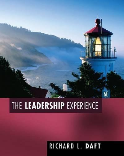 The Leadership Experience 6 9781435462854