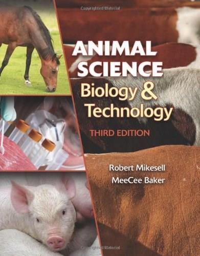 Animal Science Biology and Technology (Texas Science) 3 9781435486379