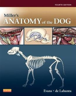 Millers Anatomy of the Dog, by Evans, 4th Edition 9781437708127