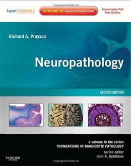 Neuropathology: A Volume in the Foundations in Diagnostic Pathology Series, by Prayson, 2nd Edition 2 PKG 9781437709490