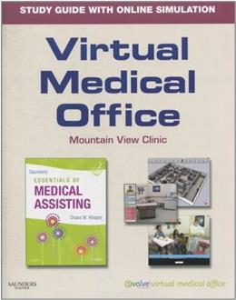 Virtual Medical Office for Saunders Essentials of Medical Assisting, by Klieger, 2nd Edition, Study Guide 2 w/CD 9781437715118