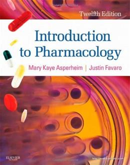 Introduction to Pharmacology, 12th Edition 9781437717068
