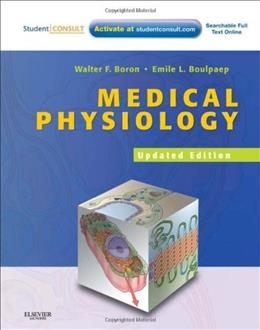 Medical Physiology, 2e Updated Edition: with STUDENT CONSULT Online Access, 2e (MEDICAL PHYSIOLOGY (BORON)) 2 PKG 9781437717532