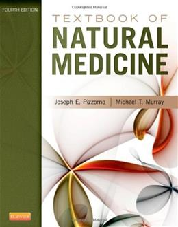 Textbook of Natural Medicine, by Pizzorno, 4th Edition 9781437723335
