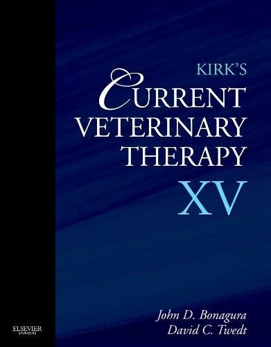 Kirks Current Veterinary Therapy, by Bonagura, 15th Edition 9781437726893