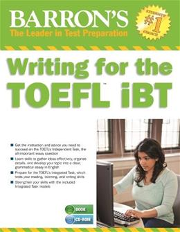 Writing for the TOEFL iBT with MP3 CD, 5th Edition (Barrons Writing for the Toefl) 9781438074566
