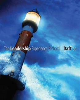 The Leadership Experience (Available Titles CengageNOW) 5 9781439042113