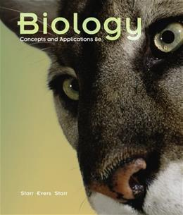 Biology: Concepts and Applications (Available Titles CourseMate) 8 9781439046739