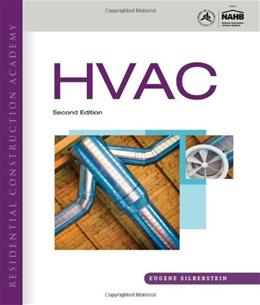 Residential Construction Academy HVAC, by Silberstein, 2nd Edition 9781439056349