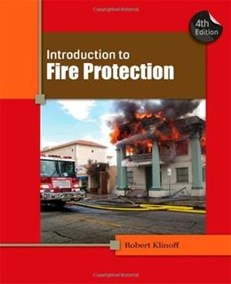 Introduction to Fire Protection 4 9781439058428