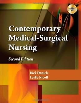 Contemporary Medical-Surgical Nursing 2 PKG 9781439058602
