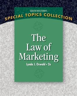 The Law of Marketing (Special Topics Collection) 2 9781439079249