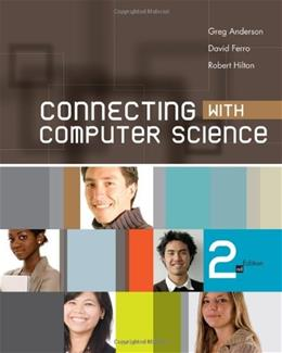 Connecting with Computer Science (Introduction to CS) 2 9781439080351