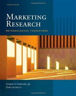 Marketing Research: Methodological Foundations (with Qualtrics Card) 10 PKG 9781439081013