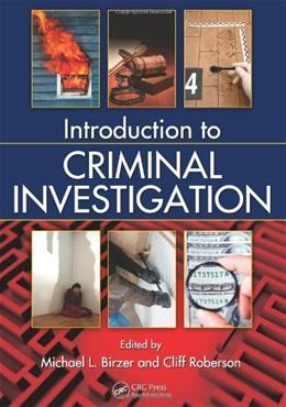Introduction to Criminal Investigation, by Birzer 9781439839348