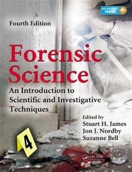 Forensic Science: An Introduction to Scientific and Investigative Techniques, Fourth Edition 4 PKG 9781439853832