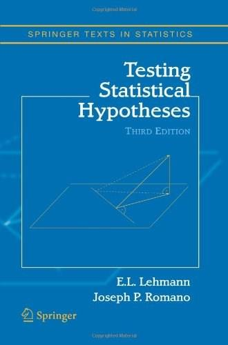 Testing Statistical Hypotheses (Springer Texts in Statistics) 3 9781441931788