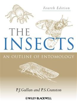 Insects: An Outline of Entomology, by Gullan, 4th Edition 9781444330366