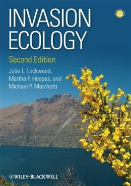 Invasion Ecology, by Lockwood, 2nd Edition 9781444333657