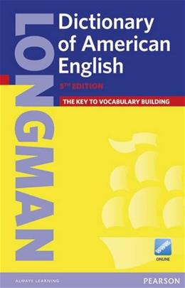 Longman Dictionary of American English, by Pearson ELT, 5th Edition 5 PKG 9781447948100