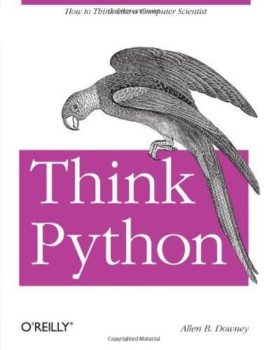 Think Python, by Downey 9781449330729