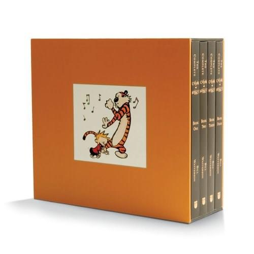 Complete Calvin and Hobbes, by Watterson, 4 BOOK SET PKG 9781449433253